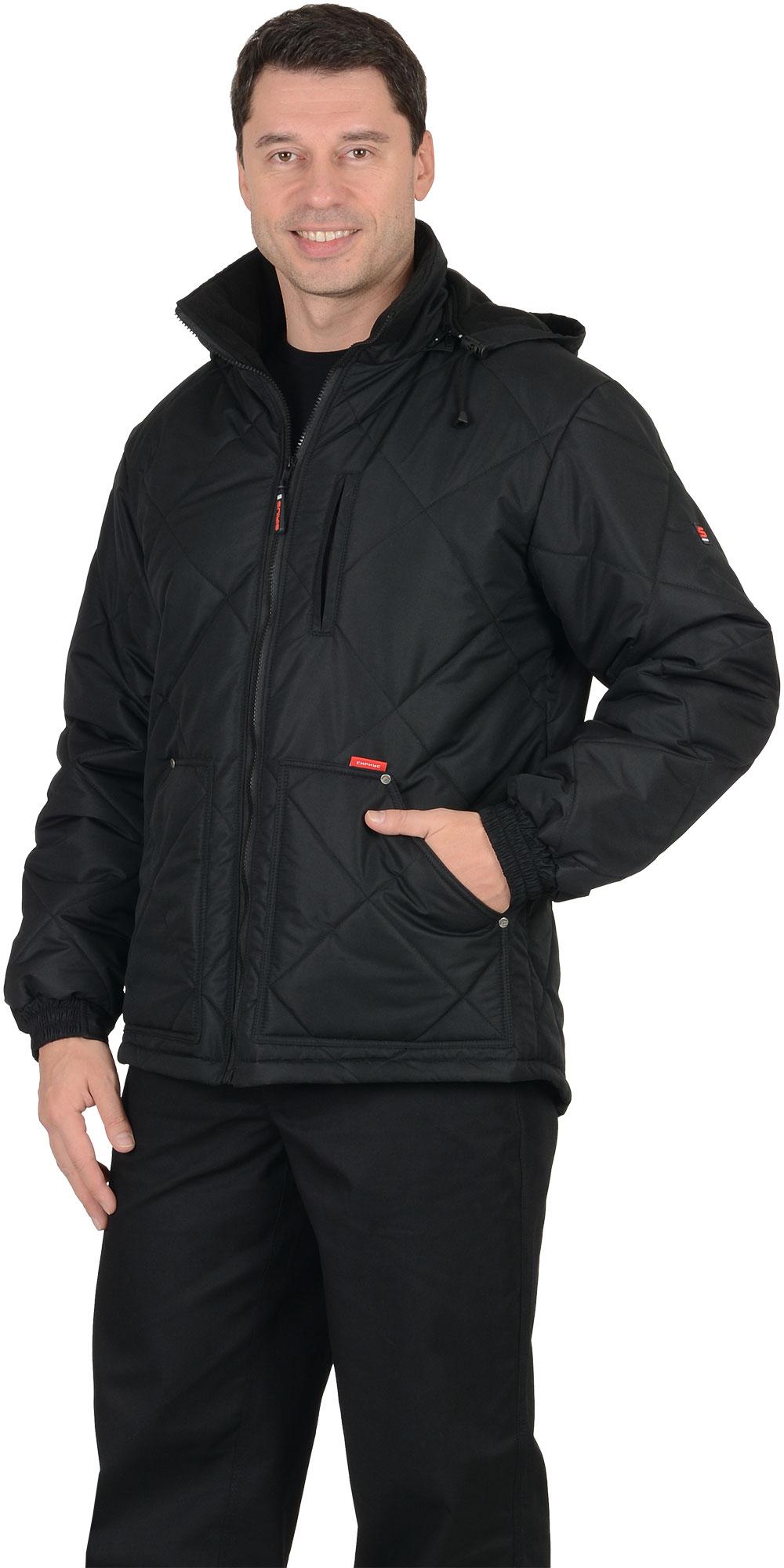 """Куртка """"ПРАГА-Люкс"""" мужская, утепленная"""