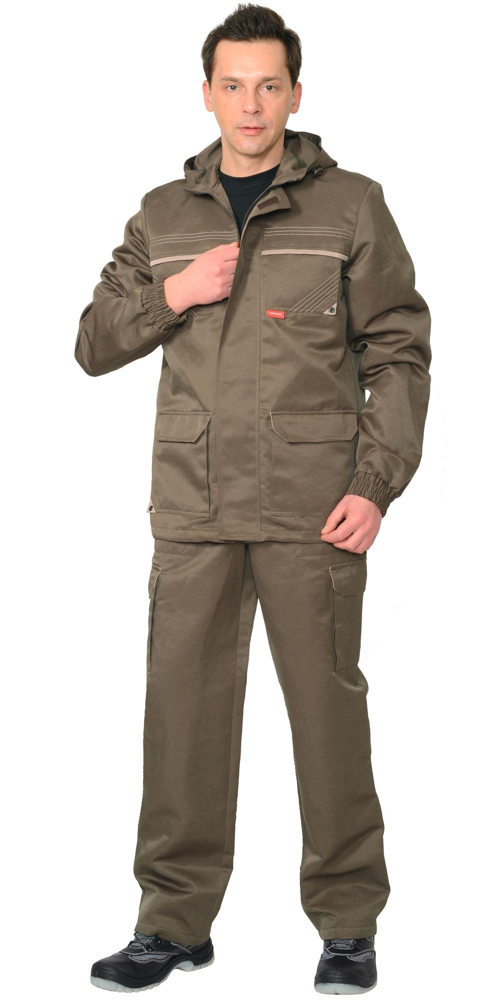 """Костюм """"Геолог"""" летний куртка, брюки тк. CROWN-230"""