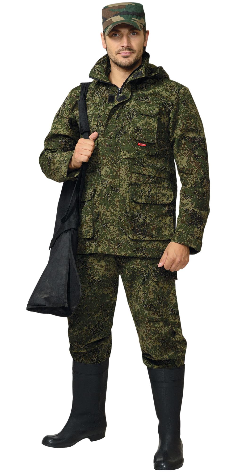 """Костюм """"ВОЛК"""" куртка, брюки, КМФ """"Цифра"""""""