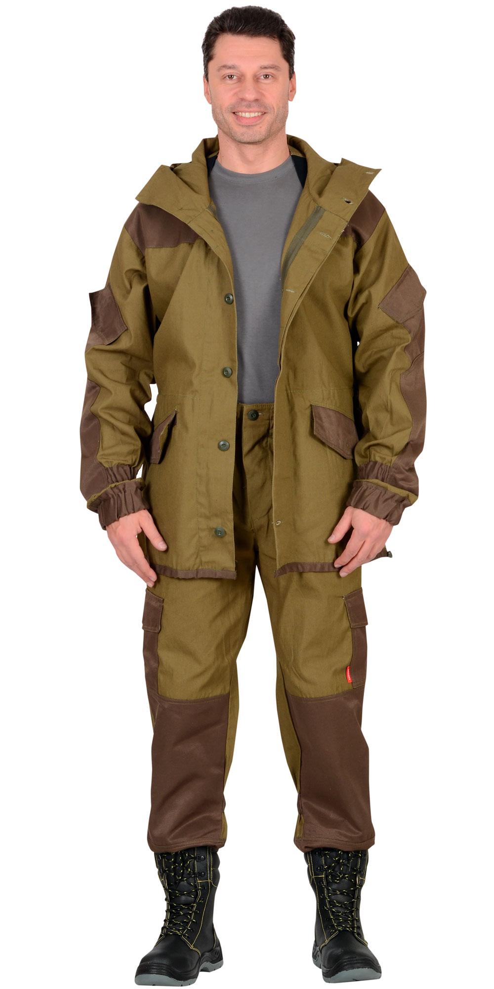 """Костюм """"ГОРКА"""" куртка, брюки, п-но палаточное"""