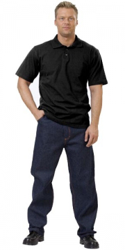 Рубашка-поло черная