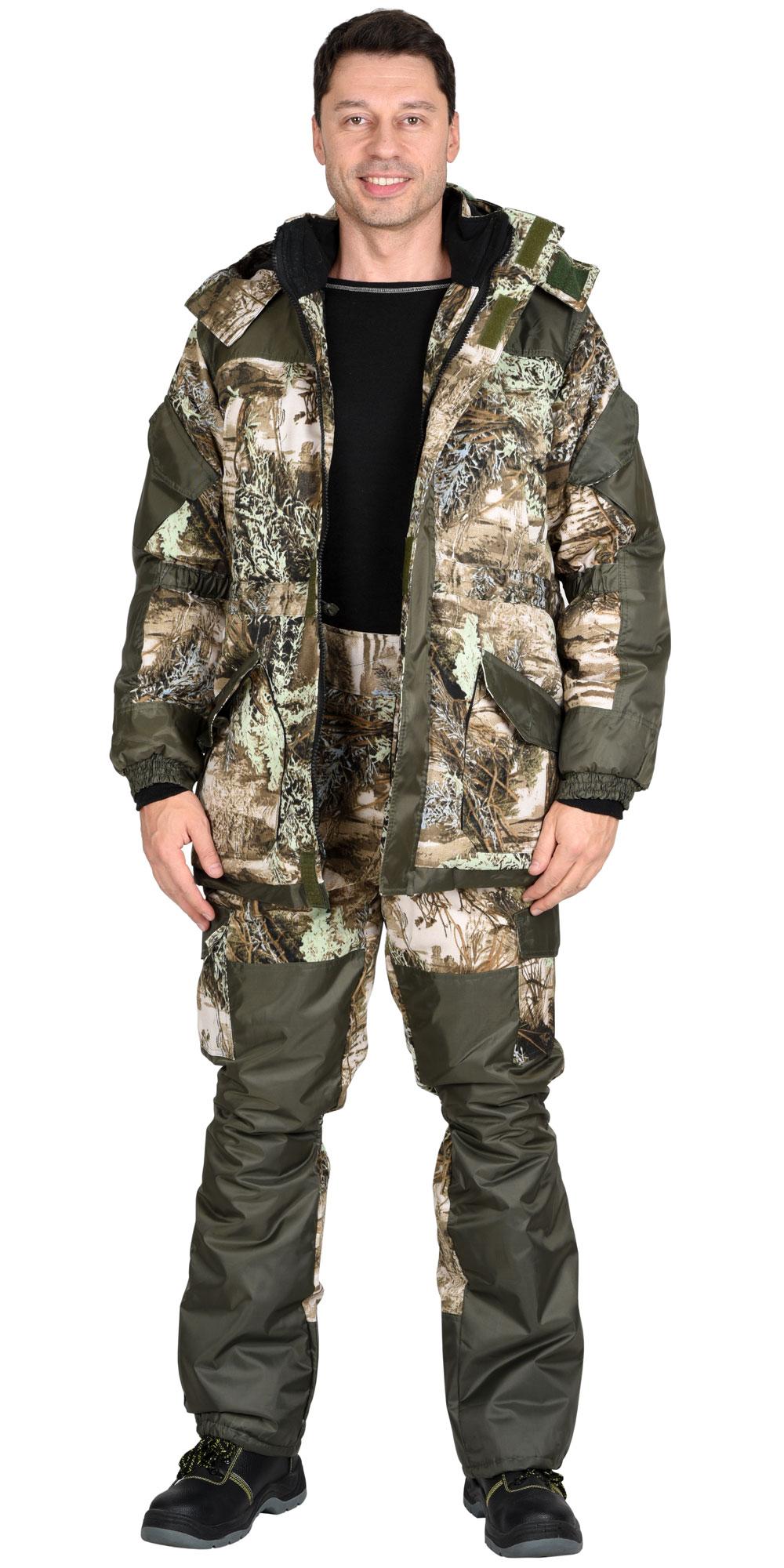 """Костюм """"ГОРКА"""" куртка дл., брюки, КМФ """"Серый мох"""""""