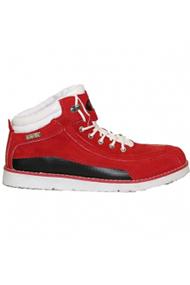 """Ботинки """"МЕГА"""" красные замша"""