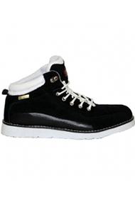 """Ботинки """"МЕГА"""" черные замша"""