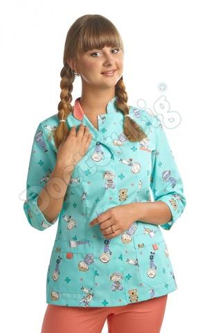 Блуза мультик 315 Doctor Big