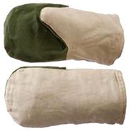 Рукавицы утеплённые из брезента 480 гр (утеплитель ватин)