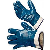 """Перчатки """"Хайкрон"""" 27-805 с полным нитриловым покрытием, манжет крага"""