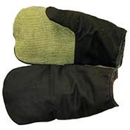 Рукавицы утеплённые (утеплитель ватин) гладкокрашенные с брезентовым наладонником
