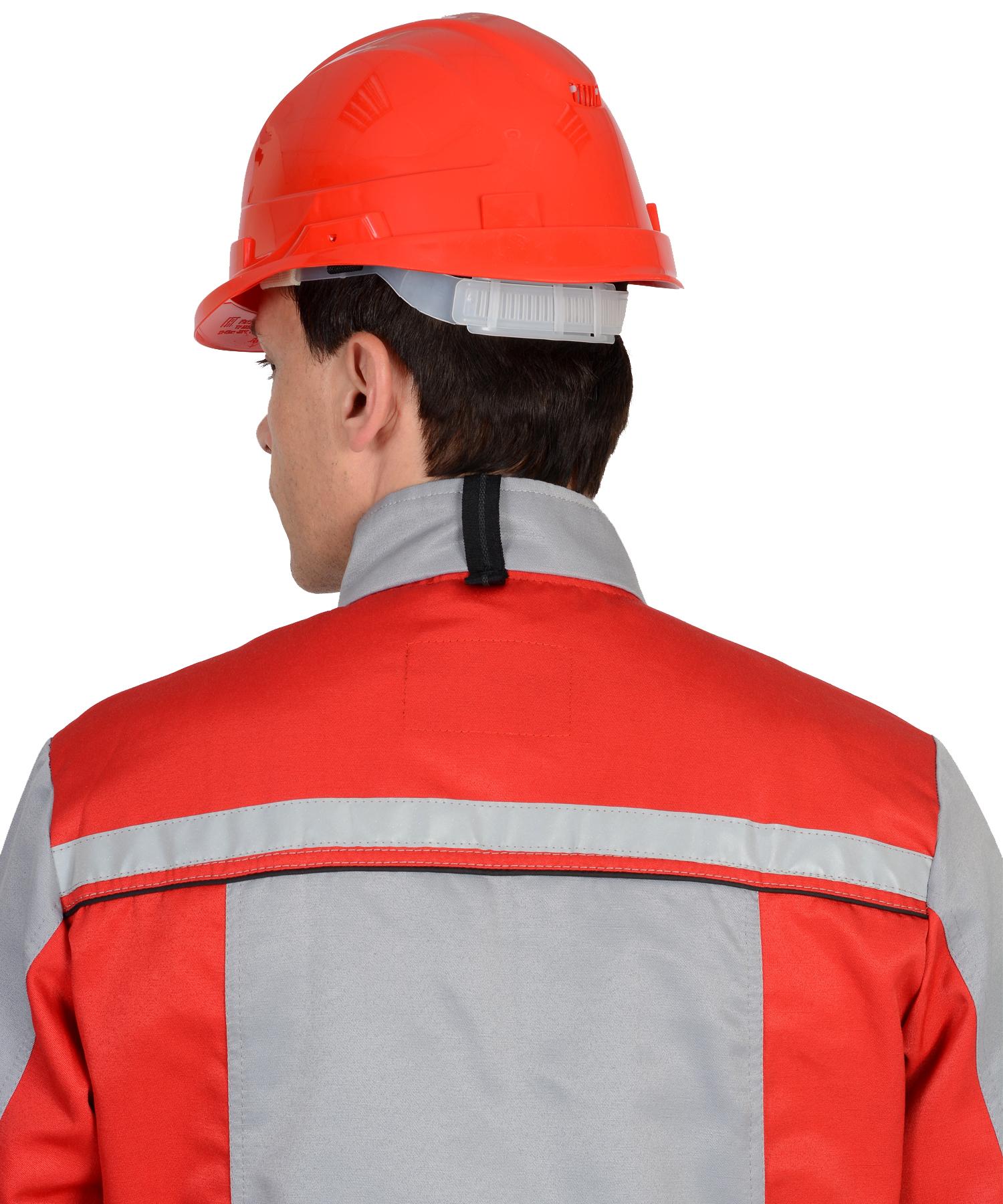 "Костюм ""ПРАКТИК-1"" куртка вид со спины"