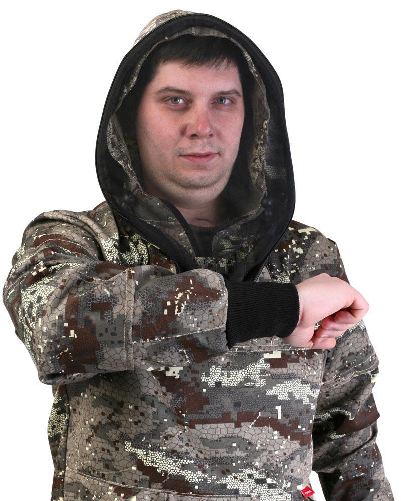 """Куртка противоэнцефалитная """"АНТИГНУС СТ"""", тк. Crown КМФ Питон."""