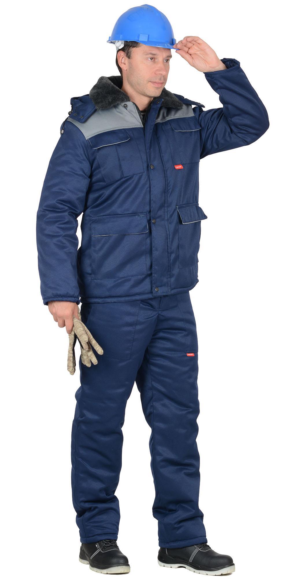 Костюм «Профессионал» зимний с полукомбинезоном
